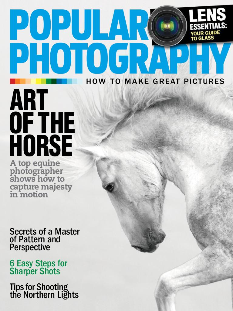 February 2016 Popular Photography Magazine The wild stallion Cloud